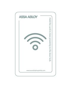 RFID guest card (Mifare Ultralight) w/magstripe
