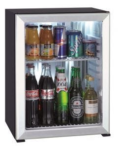 Polarbar Absorption 40L, Aluminum framed glass door